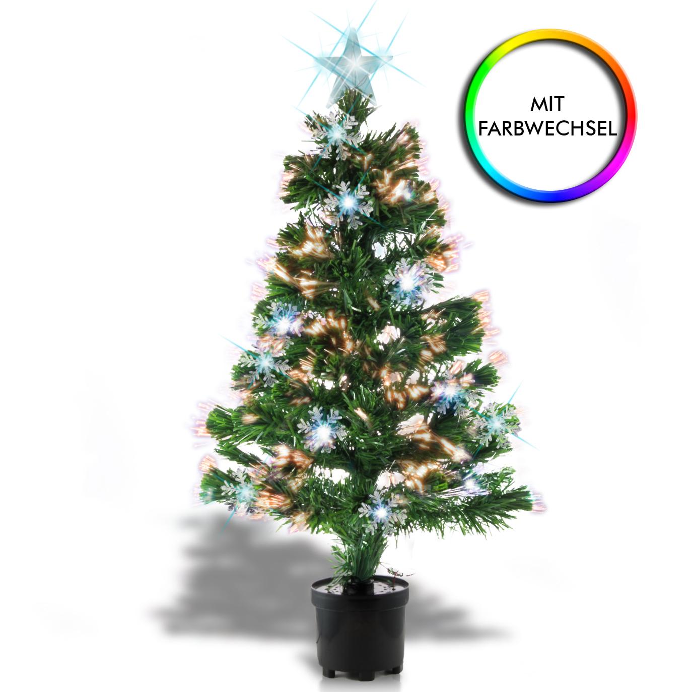 Weihnachtsbaum christbaum tannenbaum dekoration mit - Beleuchteter tannenbaum kunststoff ...
