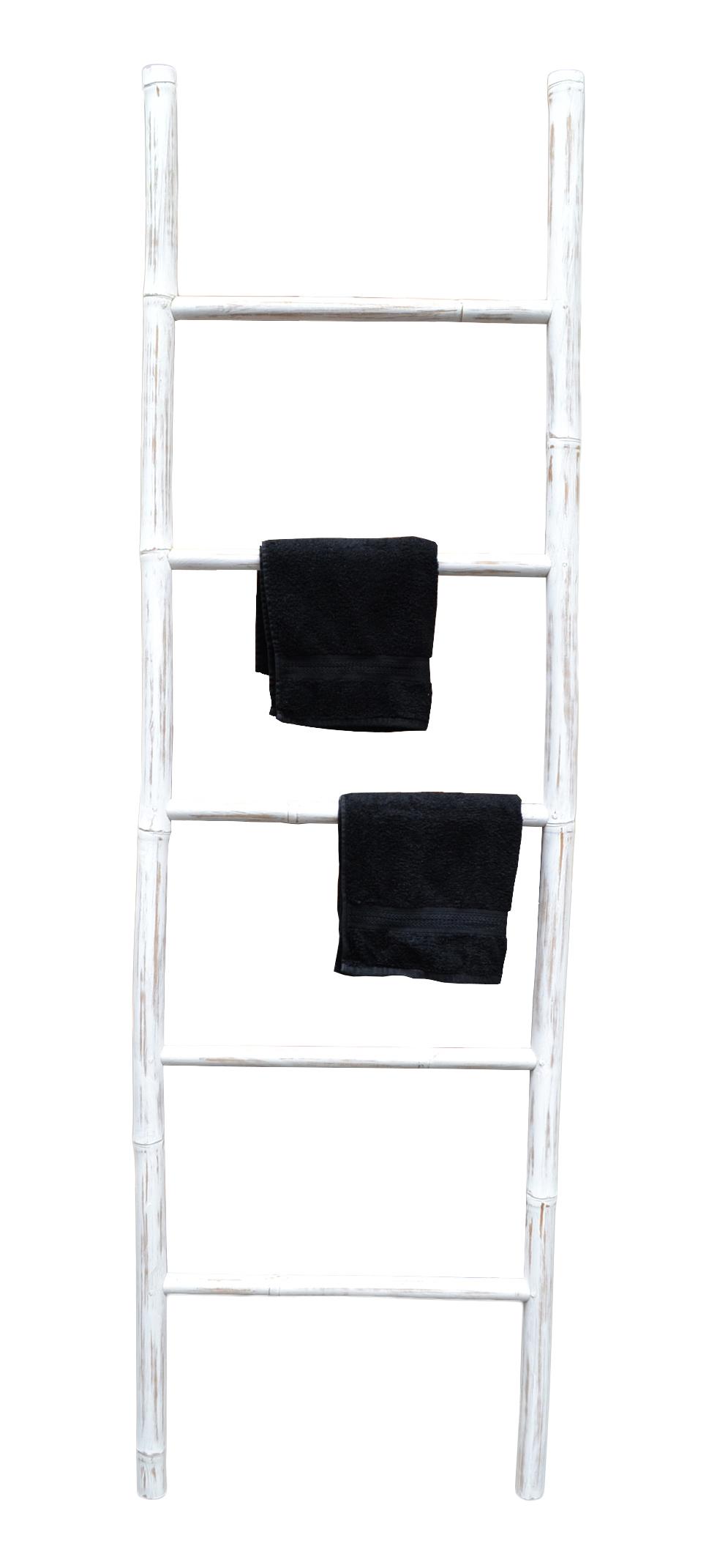xl bambus handtuchhalter bambusleiter handtuchhalter. Black Bedroom Furniture Sets. Home Design Ideas