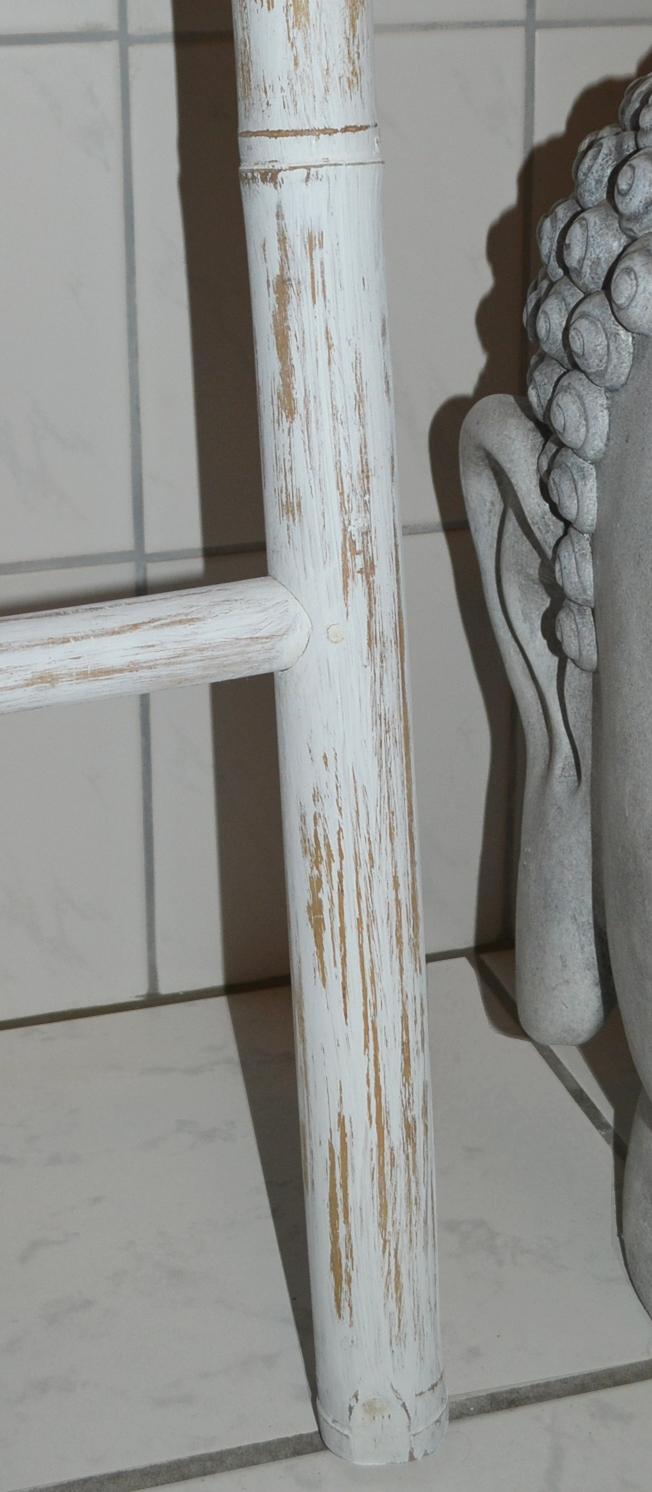 XL Bambus Handtuchhalter Bambusleiter Handtuchhalter
